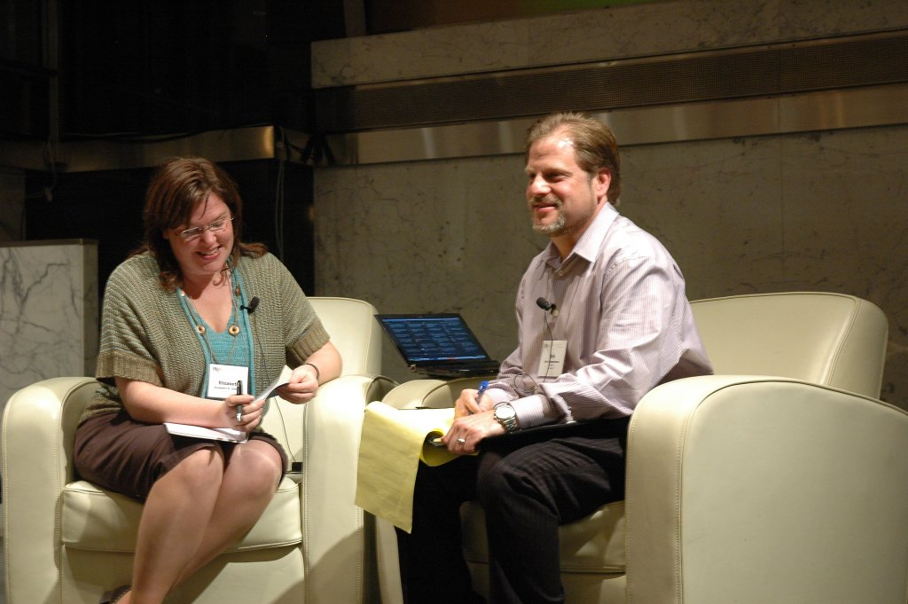 Elizabeth Albrycht and Eric Schwartzman chair the Digital Impact Conference in NYC for PRSA.