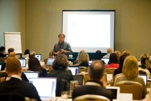 Eric Schwartzman leading a 2-day seminar for PRSA