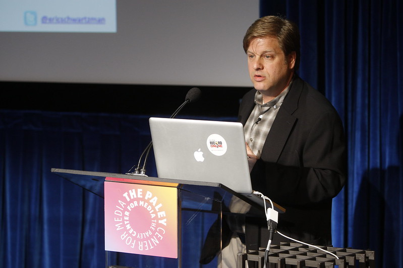 """<a href=""""https://youtu.be/4H266BW58Lo"""">Social Media Week Los Angeles Closing Keynote</a> at the Pauley Media Center in Beverly Hills."""