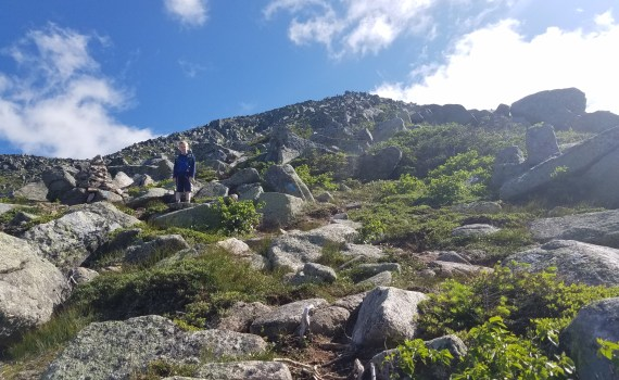 Abol Trail - My First Mt Katahdin Summit