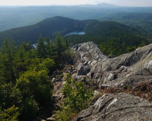 West Peak (not as scary as it looks)