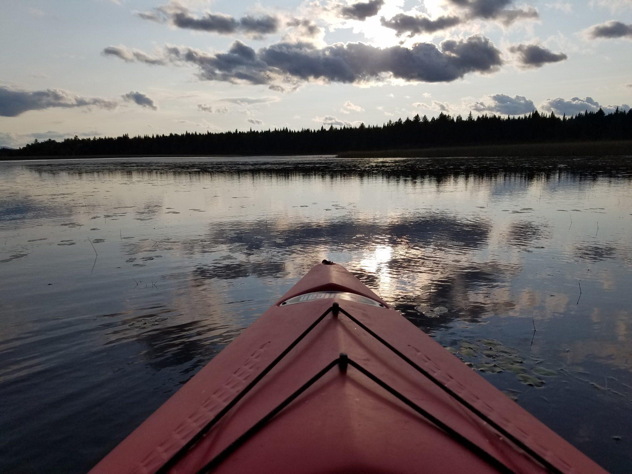 West Shirley Bog Kayaking