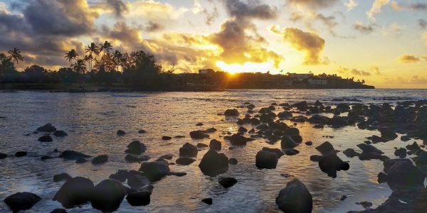 Sunrise from Marriott Waiohai Beach Club