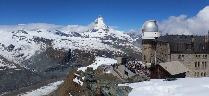 The view of Matterhorn from Gornergrat