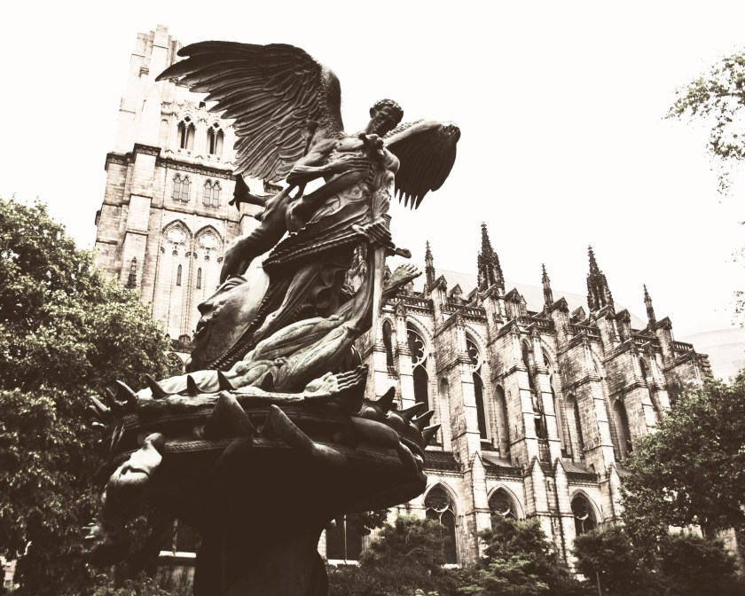 New York City, the Cathedral of St. John the Divine. What a beautiful place.