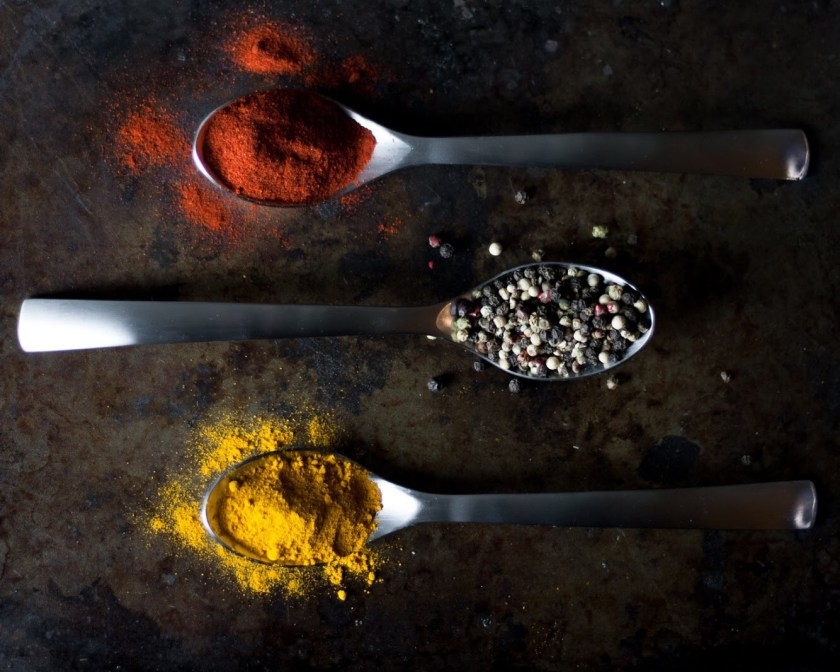 Colorful Spices Food Photography