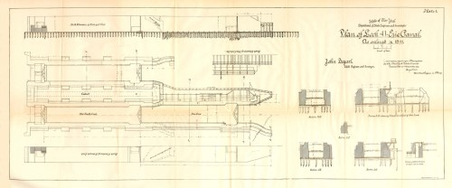 small resolution of plan of lock 41 fort herkimer