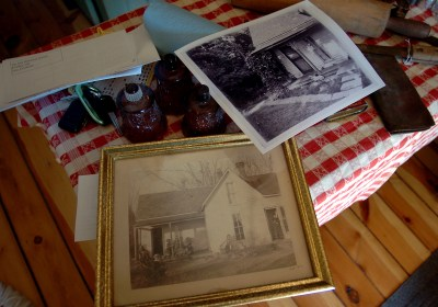 Historic photos of the Wise home, originally built by Oliver Wise in 1872.