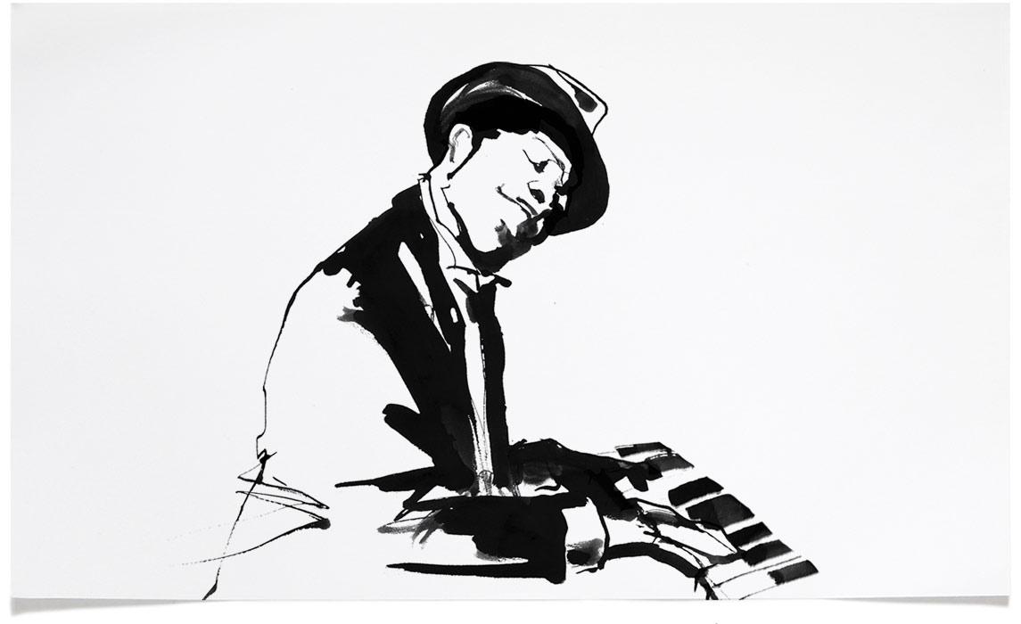 Eri Griffin Pen Ink Illustrations Black White Drawings Art And Design