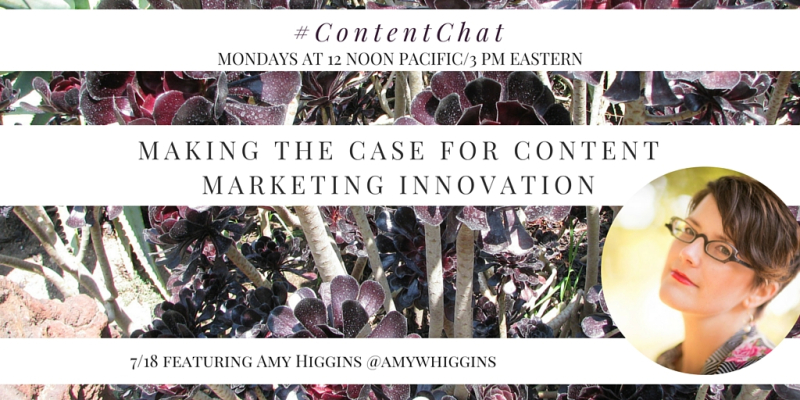 Amy Higgins Content Chat