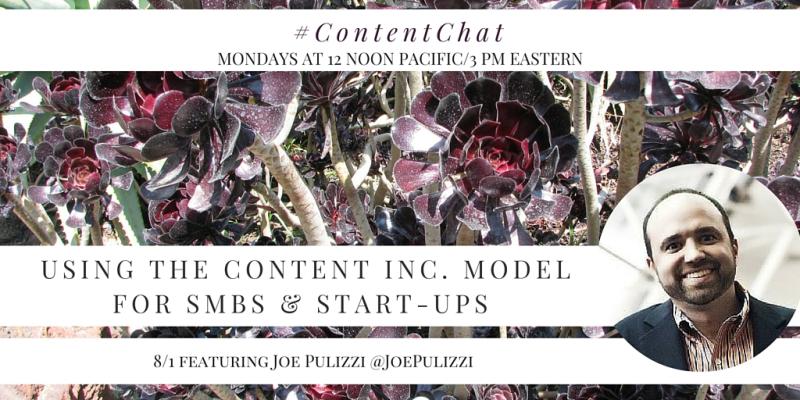 Joe Pulizzi Content Chat