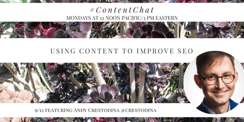 Andy Crestodina Content Chat