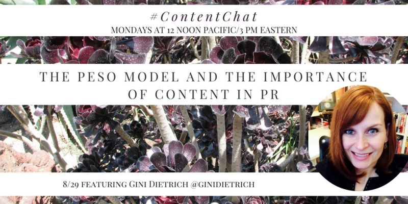 Gini Dietrich Content Chat