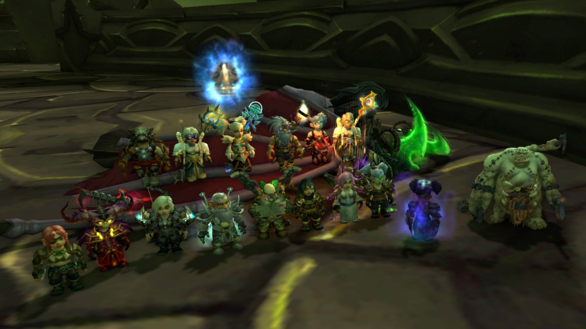 My World of Warcraft All Gnome Guild