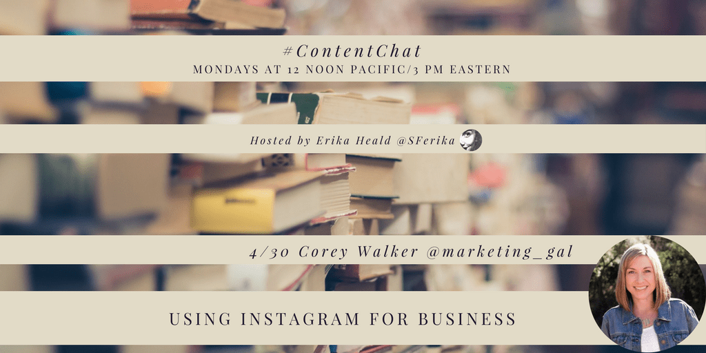 Using Instagram for Business #ContentChat