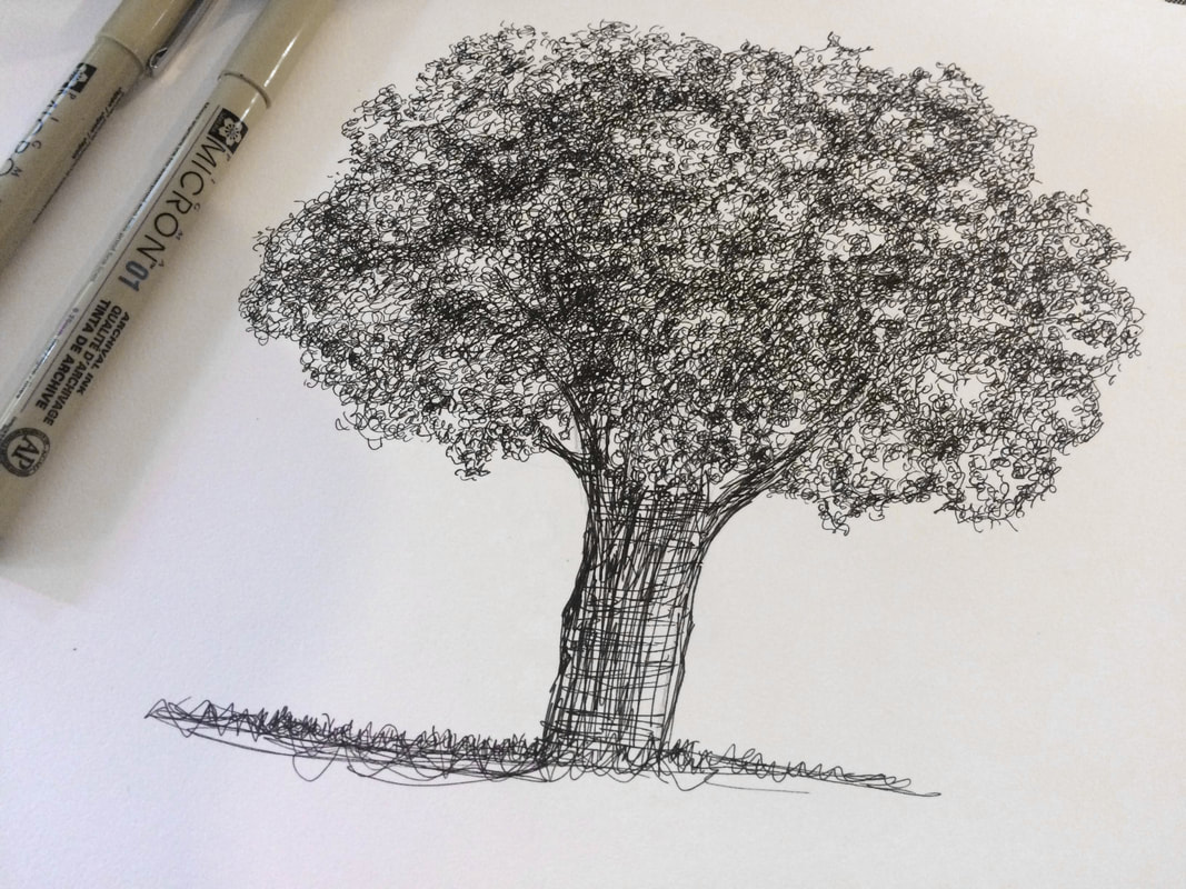 Guide To Shading Techniques Hatching Cross Hatching