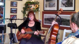 erika may performs @ Yankee Creek Coffee House at St Patrick's Day
