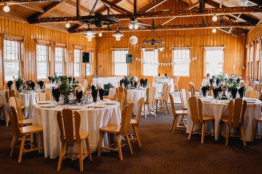 reception at the Pine Room at YMCA in Estes Park