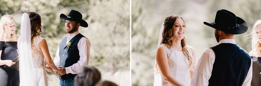 ceremony at the Black Canyon Inn