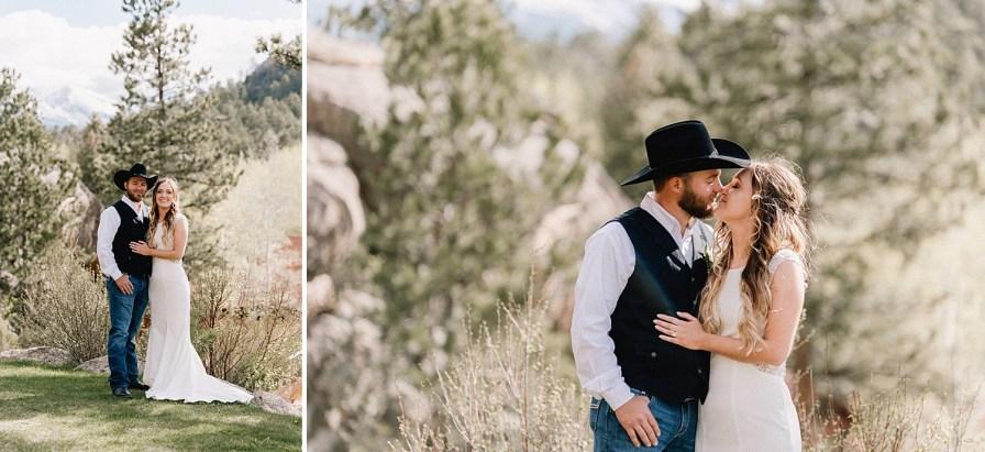 May wedding at the Black Canyon Inn