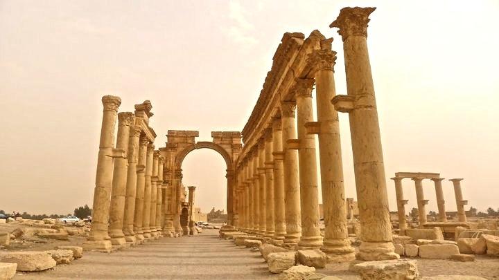 Palmyra Ruins, Syria
