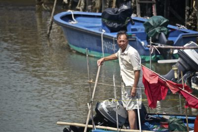 Fisherman in Tai O