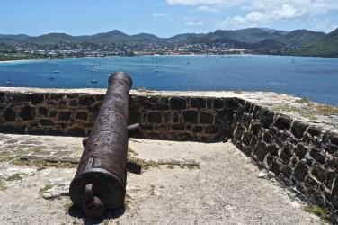 View from Fort Rodney