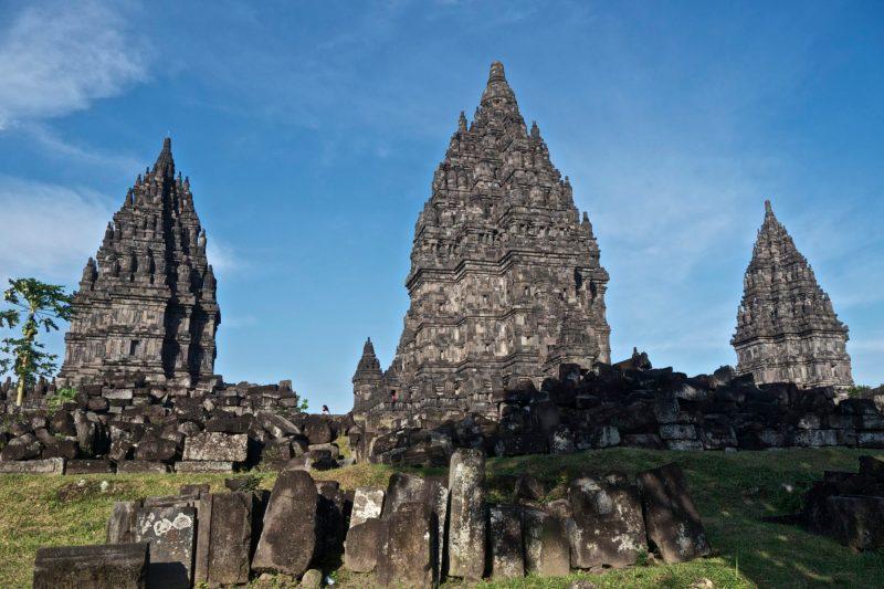 Borobudur and Prambanan--Prambanan