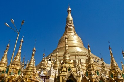 Myanmar is the land of golden pagodas