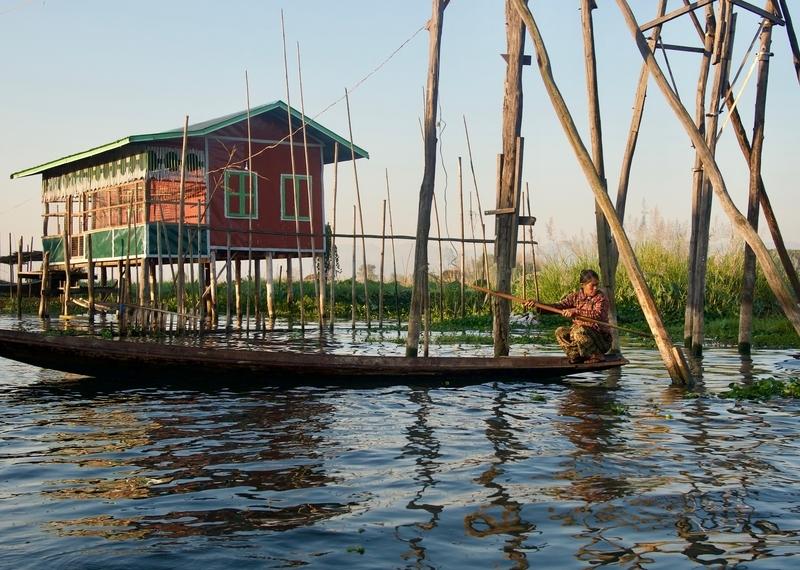 Local Village, Inle Lake, Myanmar