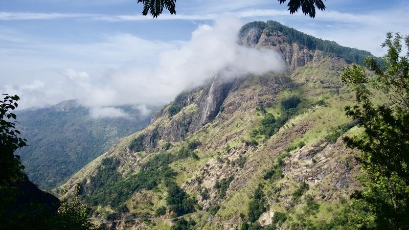 View from Little Adam's Peak Sri Lanka