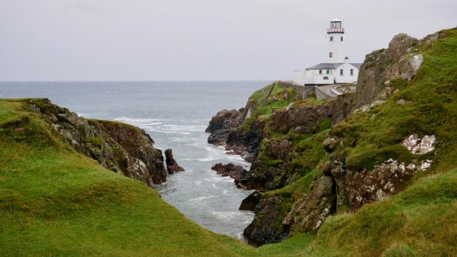 Lighthouse in Donegal Ireland