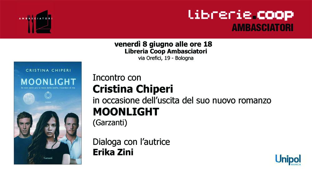 Moonlight: presentazione del libro di Cristina Chiperi