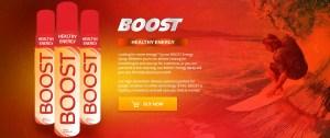Boost spray by MDC. My Daily Choice