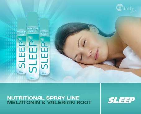Sleep Better and Stop Insomnia with Sublingual Sleep Spray