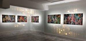 installation view of Exo Resonance exhibition