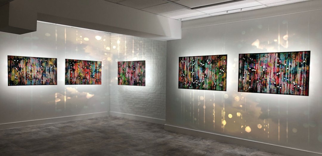 installation view of Exo Resonance exhibition