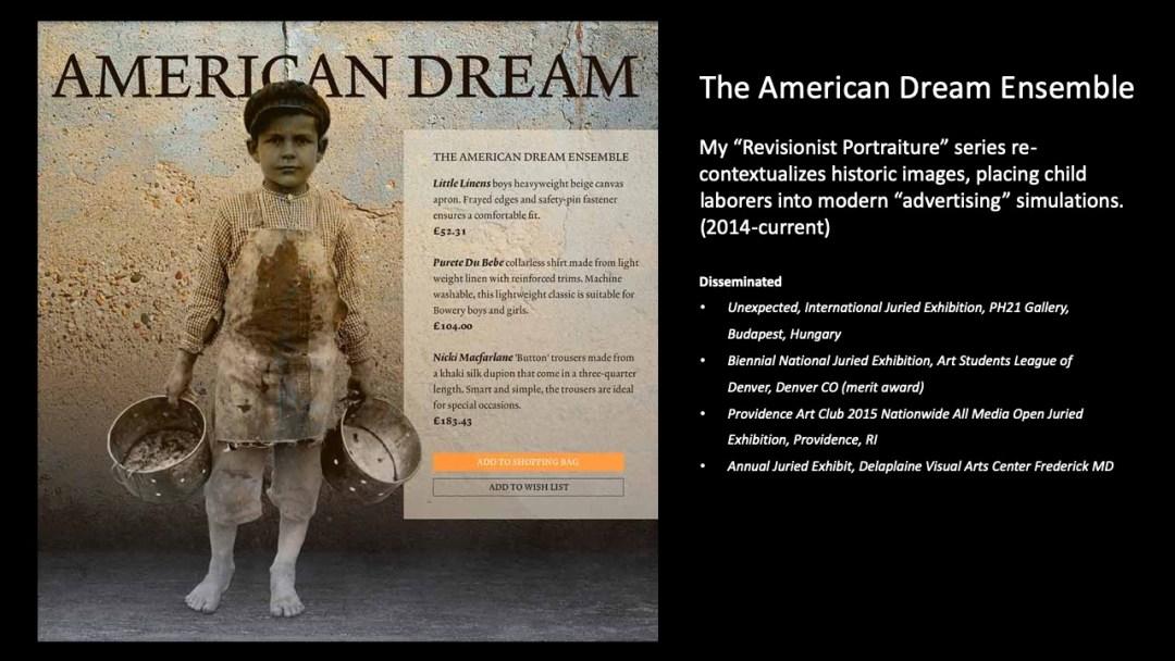 The American Dream Ensemble No1 (2014)