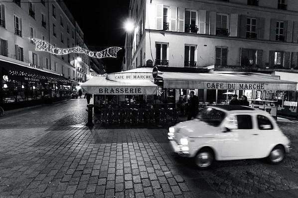 Le Café du Marche in rue Cler