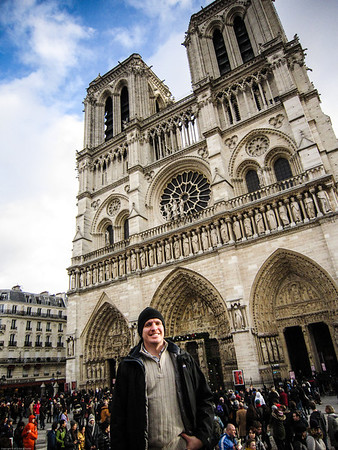 Christmas Day Mass at Notre Dame Cathedral
