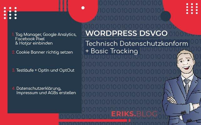 Wordpress DSVGO Technisch Datenschutzkonform Basic Tracking