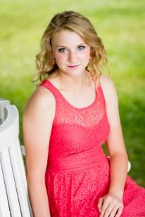 Katie's senior photo