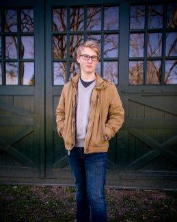 Liam senior portrait