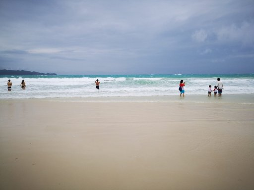 White Sand Beach of Boracay