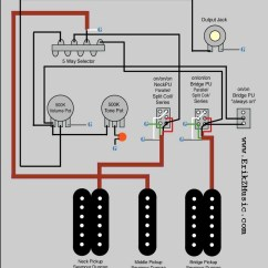 Hss Wiring Diagram Seymour Duncan Mk4 Jetta Radio Warmoth Hsh Strat Erik Z Music Series Parellel Single Coil From A By Zukauskas