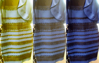 The dress - white and gold or blue and black?