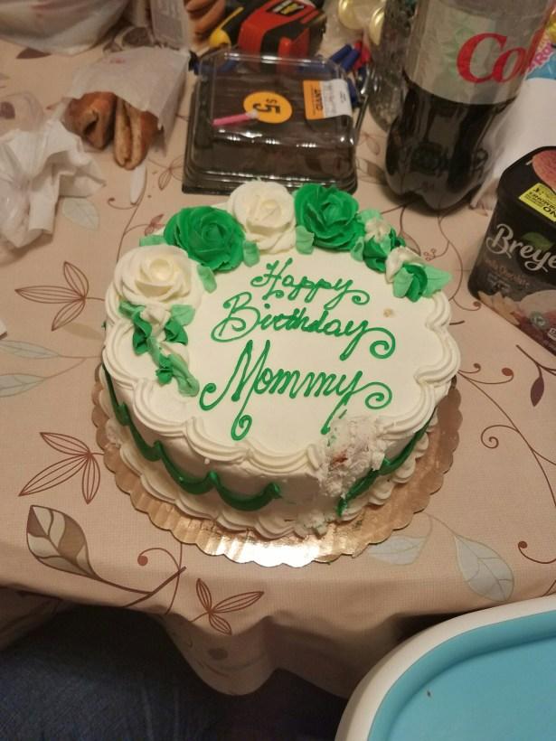 Mom's cake
