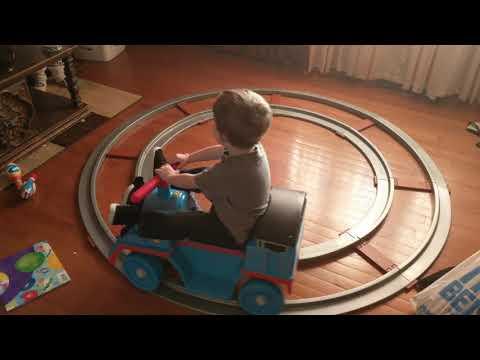 Riding Thomas