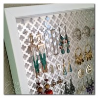 DIY Jewelry Earring Holder (creativitE by Erin Bassett)
