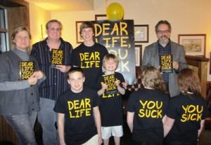Dear Life You Suck tshirts